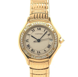 Cartier Panthere Cougar 18K Yellow Gold & Diamonds Ref. 1171