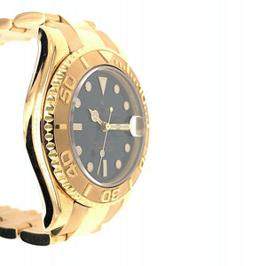 Rolex Yacht-Master Midsize Blue Dial 18K Yellow Gold