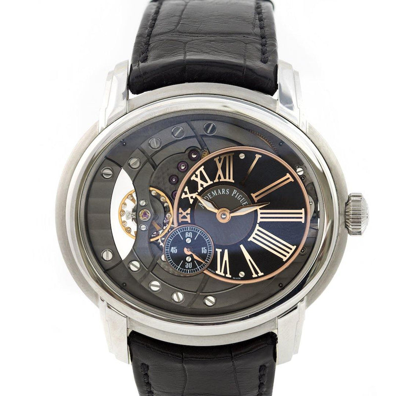 Audemars Piguet Millenary Stainless Steel Ref. 4101 - Twain Time, Inc.