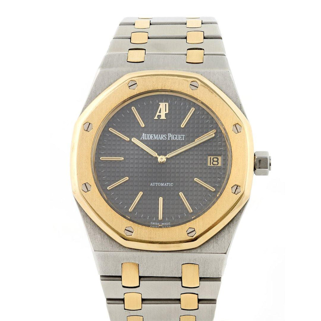 Audemars Piguet Royal Oak Jumbo Two Tone Series B - Twain Time, Inc.