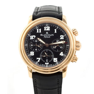 Blancpain Leman Flyback Chronograph 18K Rose Gold - Twain Time, Inc.