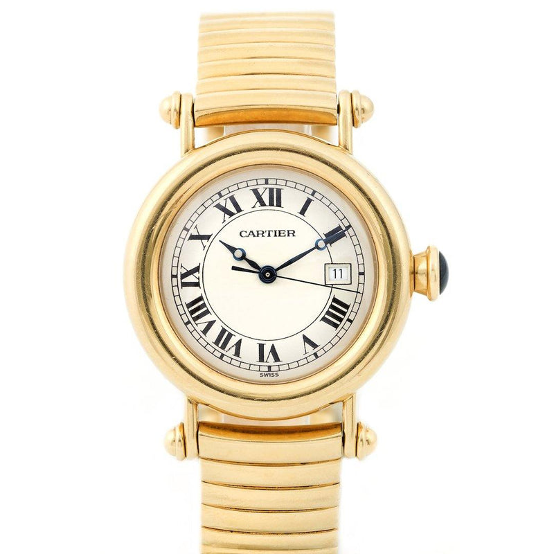 Cartier Diabolo Larger Size 18K Yellow Gold - Twain Time, Inc.