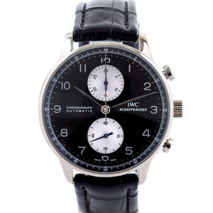 IWC Portugieser Chronograph 18K White Gold - Twain Time, Inc.