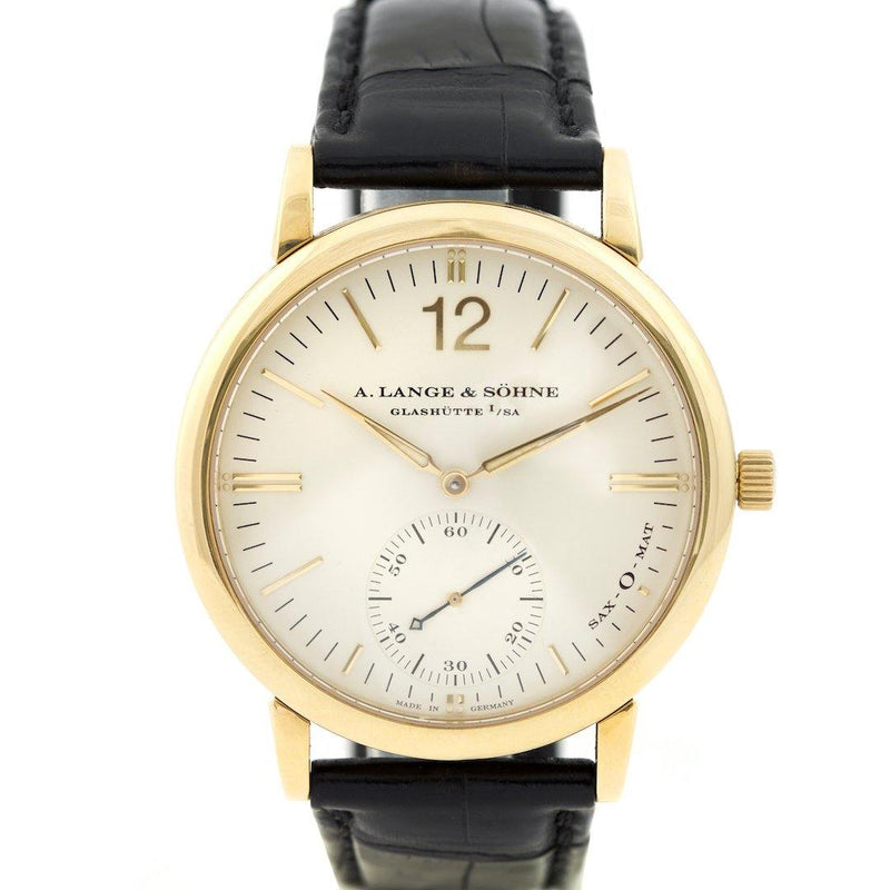 A. Lange & Söhne SAX-O-MAT 18K Yellow Gold - Twain Time, Inc.