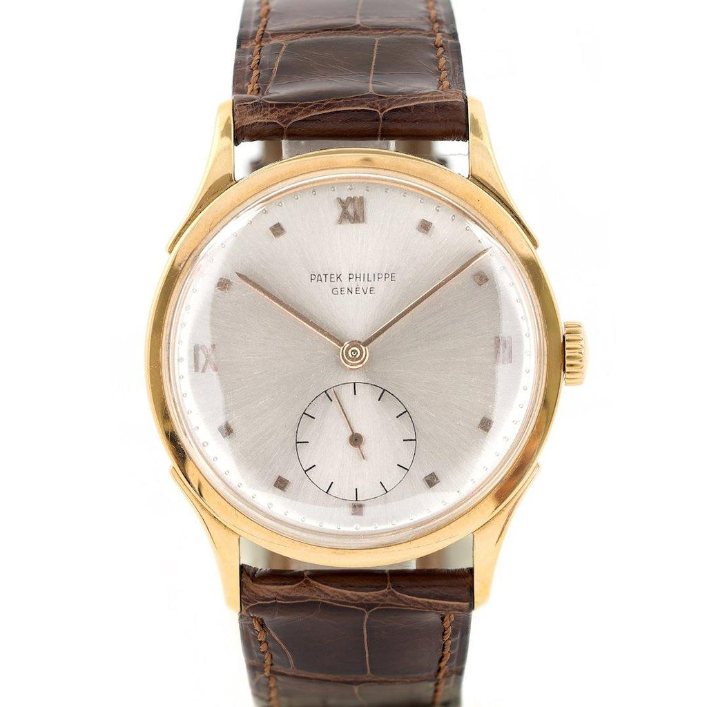 Patek Philippe Large Calatrava 18K Rose Gold Ref. 1589R - Twain Time, Inc.