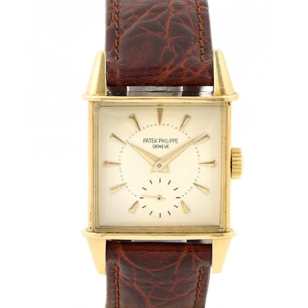 Patek Philippe Vintage 18K Yellow Gold Ref. 2491J - Twain Time, Inc.