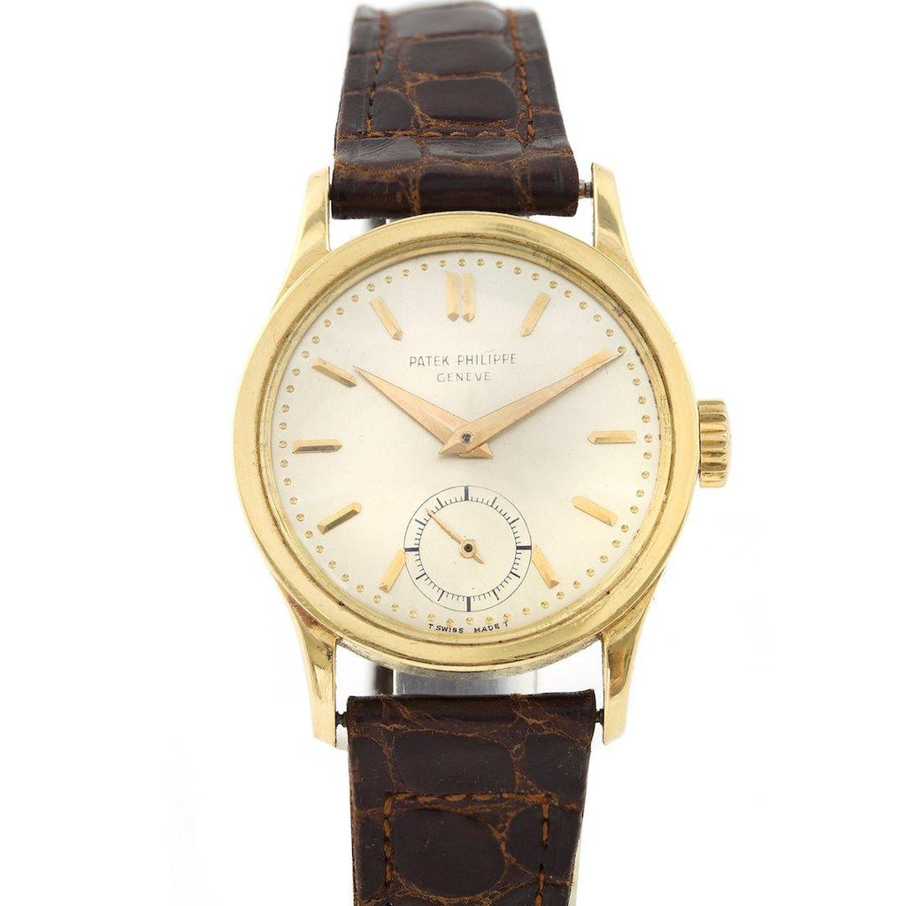 Patek Philippe Calatrava 18K Yellow Gold Ref. 2545J - Twain Time, Inc.