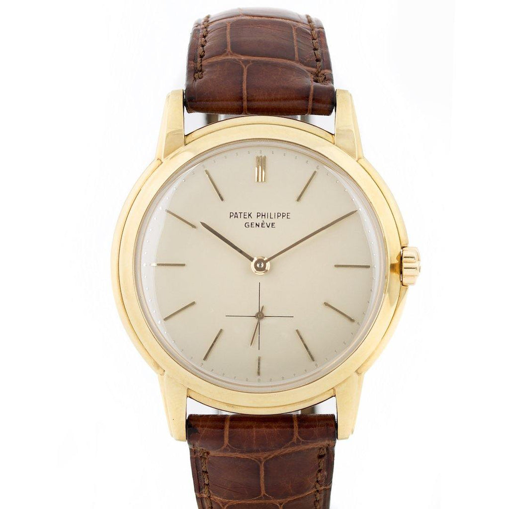 "Patek Philippe Calatrava ""Disco Volante"" 18K Yellow Gold Ref. 2551J - Twain Time, Inc."