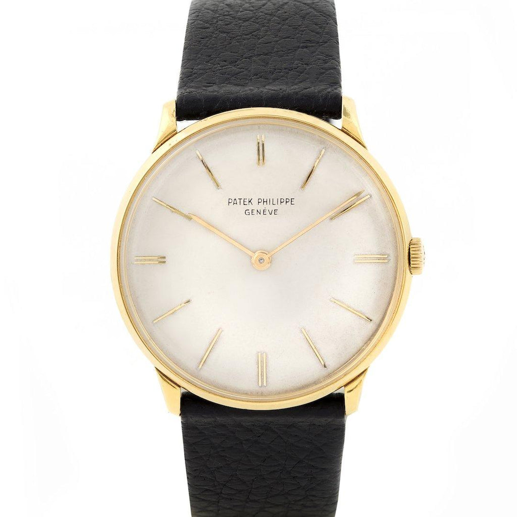 Patek Philippe Calatrava 18K Yellow Gold Ref. 2573J - Twain Time, Inc.