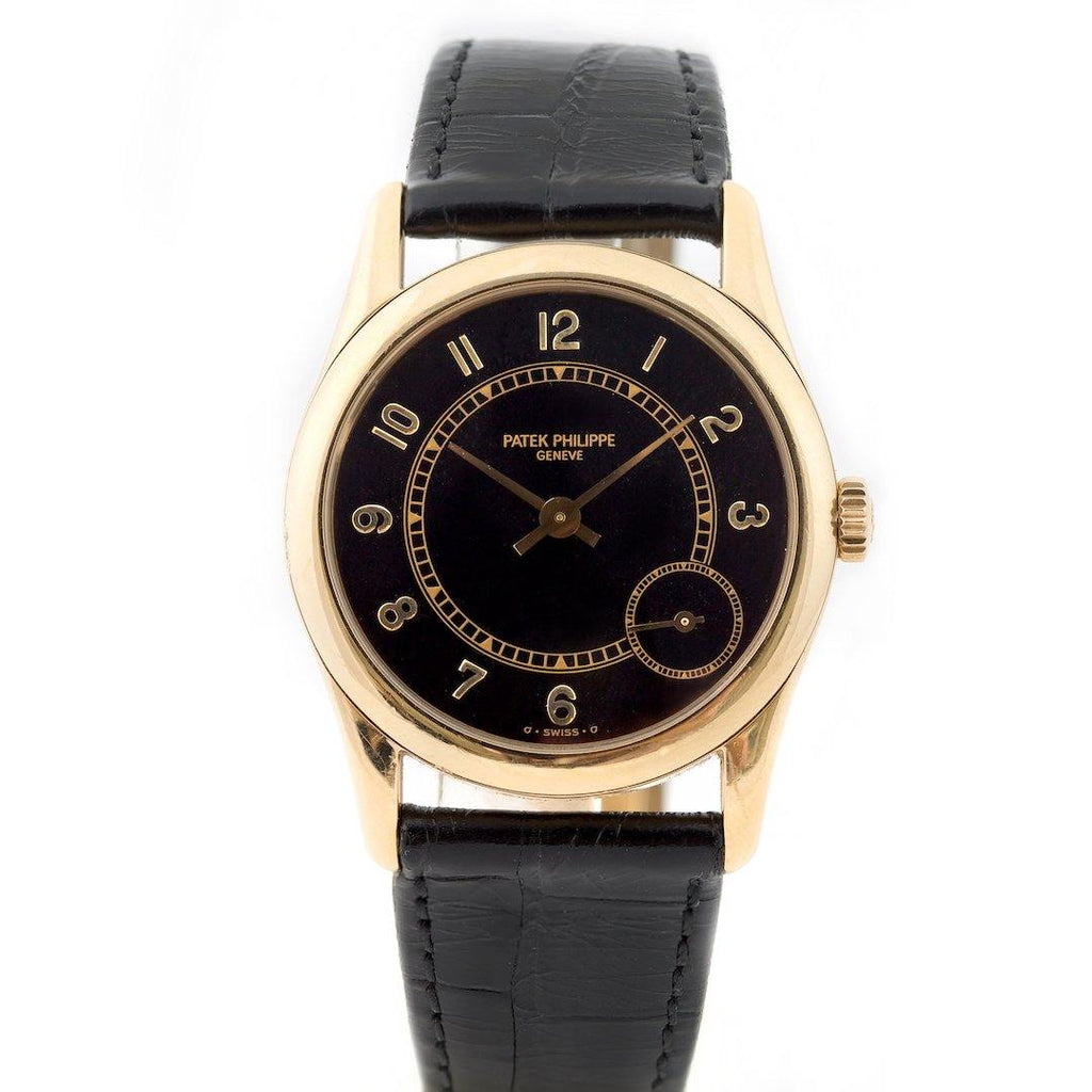 Patek Philippe Calatrava 18K Yellow Gold Ref. 5000J-001 - Twain Time, Inc.