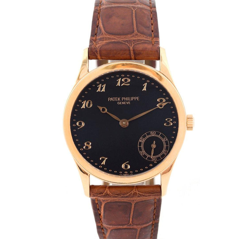 Patek Philippe Calatrava 18K Rose Gold Ref. 5026J-001 - Twain Time, Inc.