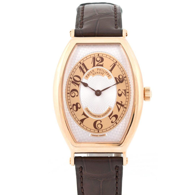 Patek Philippe Gondolo 18K Rose Gold Ref. 5098-001 - Twain Time, Inc.