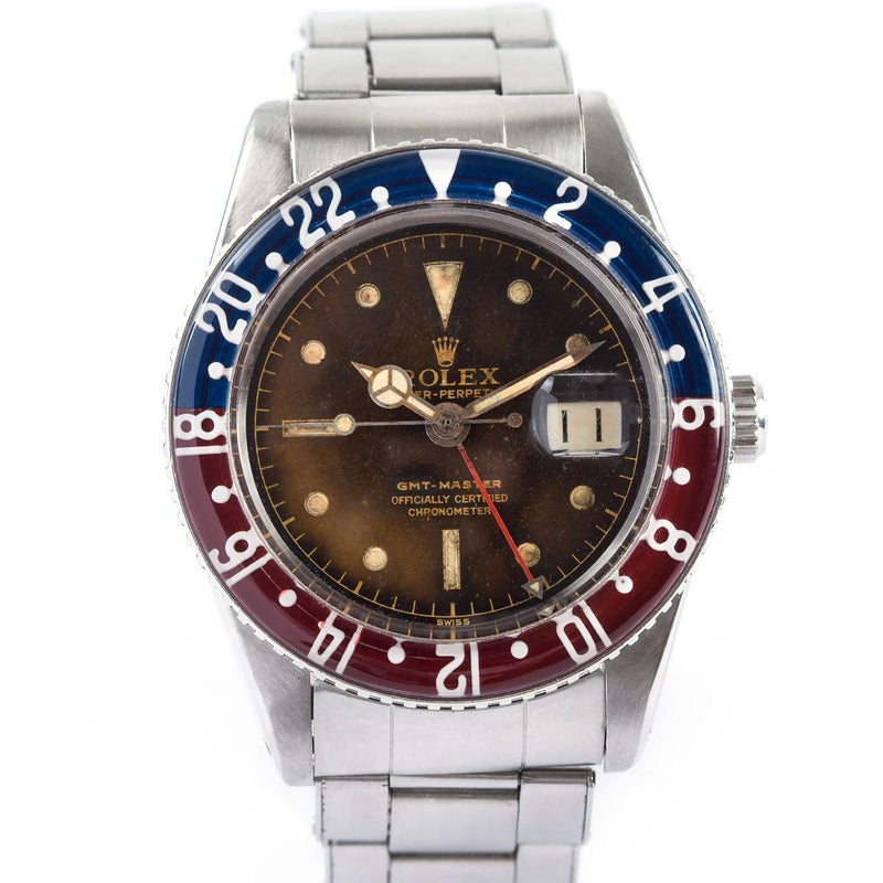 Rolex Vintage GMT Master - Stainless Steel - Twain Time, Inc.