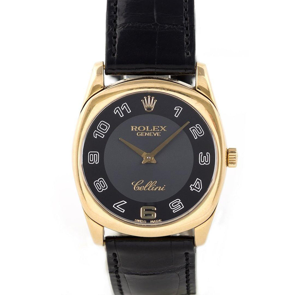 Rolex Cellini Danaos 18K Yellow Gold - Twain Time, Inc.
