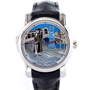 Ulysse Nardin Minute Repeater Platinum Carnival of Venice - Twain Time, Inc.