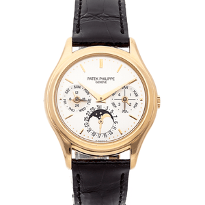 Patek Philippe Perpetual Calendar Moon Phase 18K Rose Gold Ref. 3940R - Twain Time, Inc.