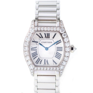Cartier Tortue - 18K White Gold - Twain Time, Inc.