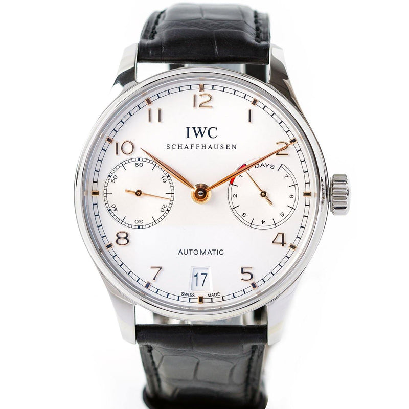 IWC Portugieser 7 Days Power Reserve Stainless Steel - Twain Time, Inc.
