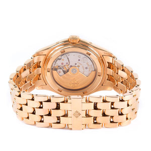 Patek Philippe Annual Calendar Moon Phases 18K Rose Gold Ref. 5036/1R - Twain Time, Inc.