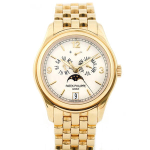 Patek Philippe Annual Calendar Moon Phases 18K Gold Ref. 5146/1J - Twain Time, Inc.