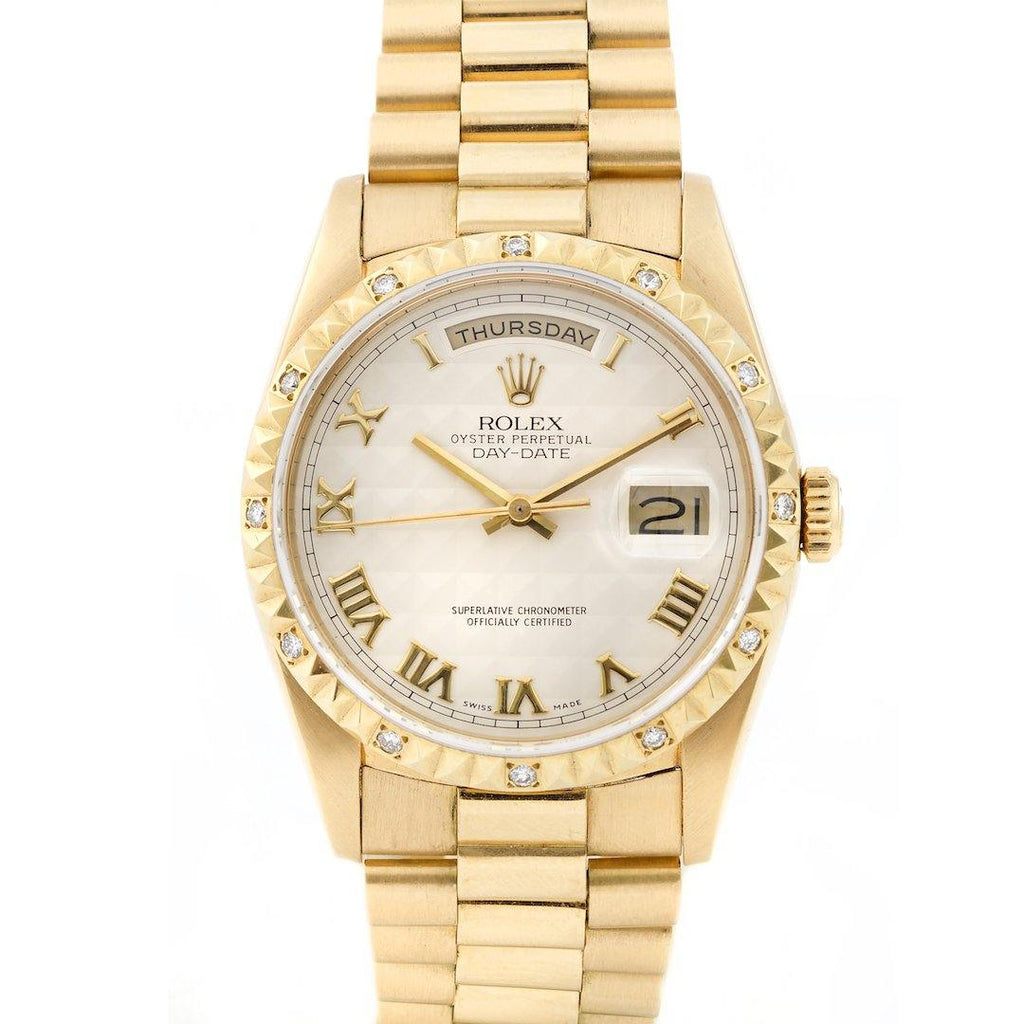 Rolex Day-Date President 18K Yellow Gold Ref. 18238 - Twain Time, Inc.