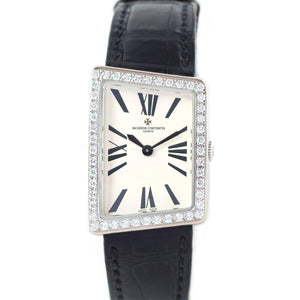 Vacheron Constantin 1972 Asymmetric Medium 18K White Gold - Twain Time, Inc.