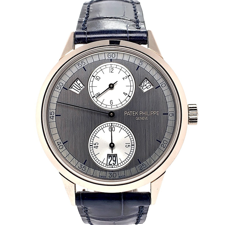 Patek Philippe Complications Annual Calendar Regulator 18K White Gold Ref. 5235G-001 | Twain Time