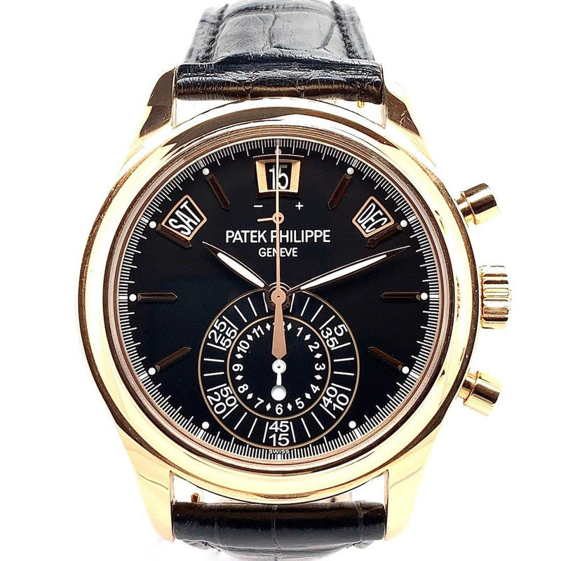 Patek Philippe Chronograph Annual Calendar 18K Rose Gold Ref. 5960R - Twain Time