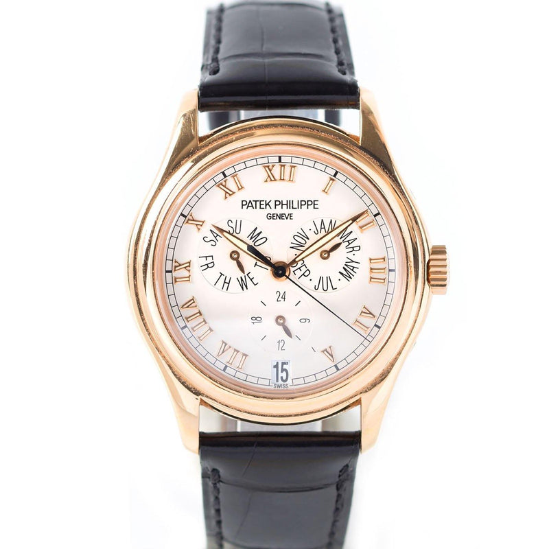 Patek Philippe Complication Annual Calendar 18K Rose Gold Ref. 5035R-001 - Twain Time, Inc.
