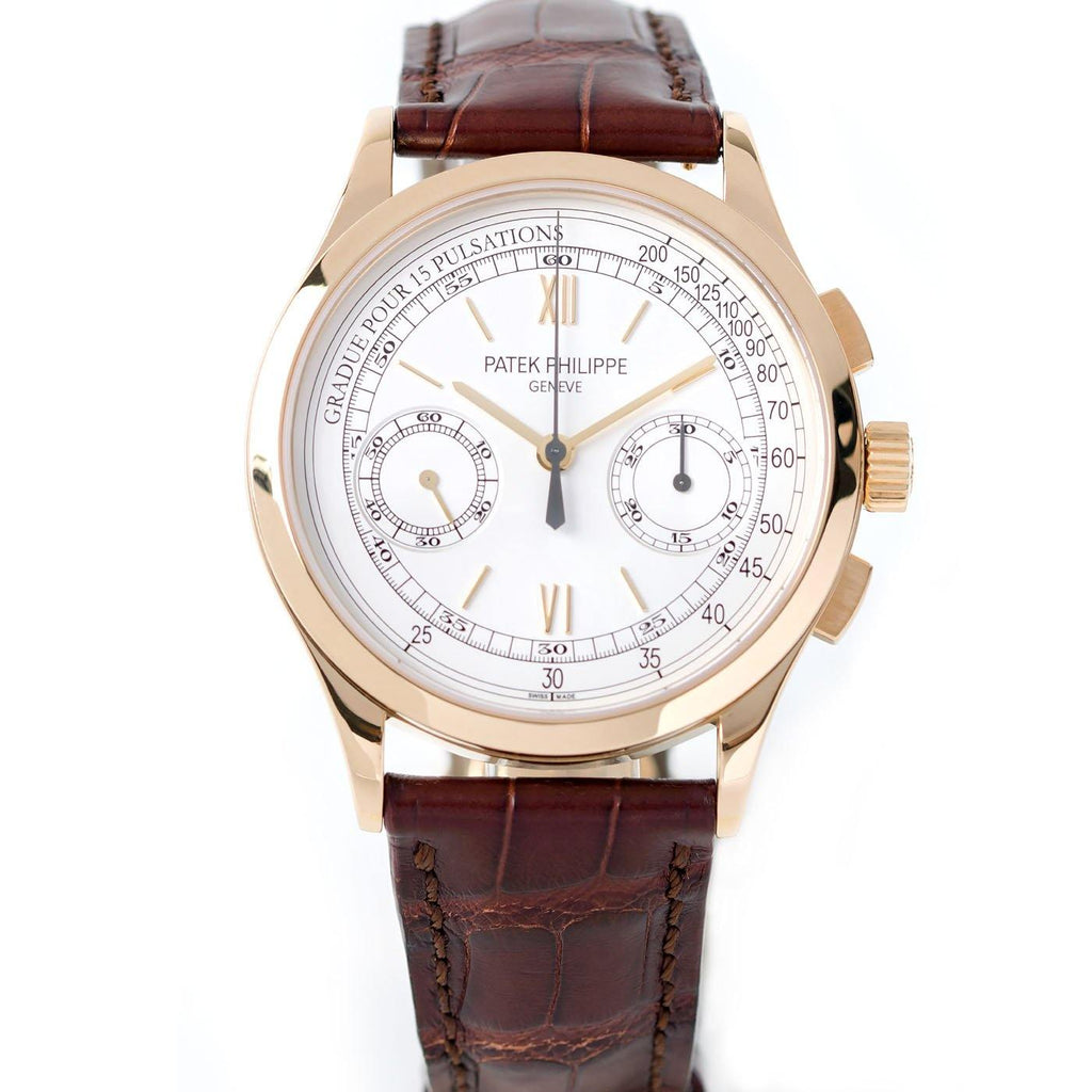 Patek Philippe Complication Chronograph 18K Yellow Gold Ref. 5170J-001 - Twain Time, Inc.