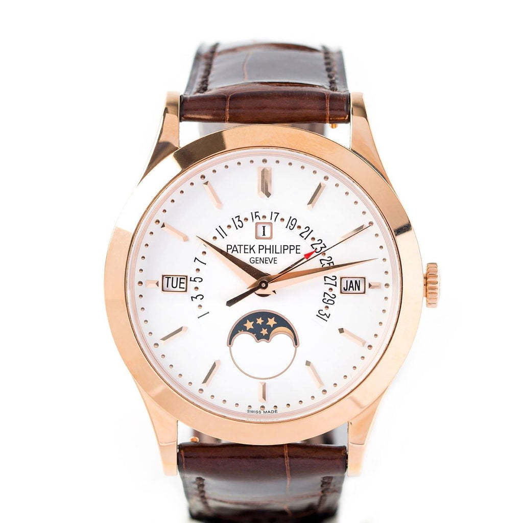 Patek Philippe Grand Complications Perpetual Calendar 18K Rose Gold Ref. 5496R - Twain Time, Inc.