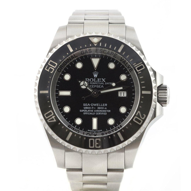 Rolex Sea-Dweller Deep Sea Stainless Steel 116660 - Twain Time, Inc.