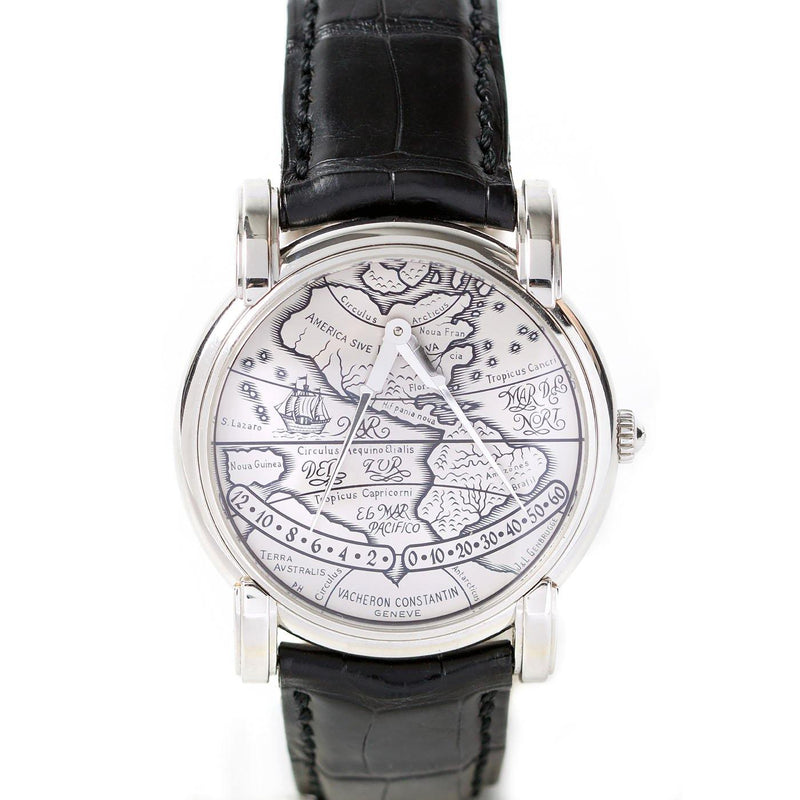"Vacheron Constantin Mercator ""The Americas"" Double Retrograde  Platinum - Twain Time, Inc."