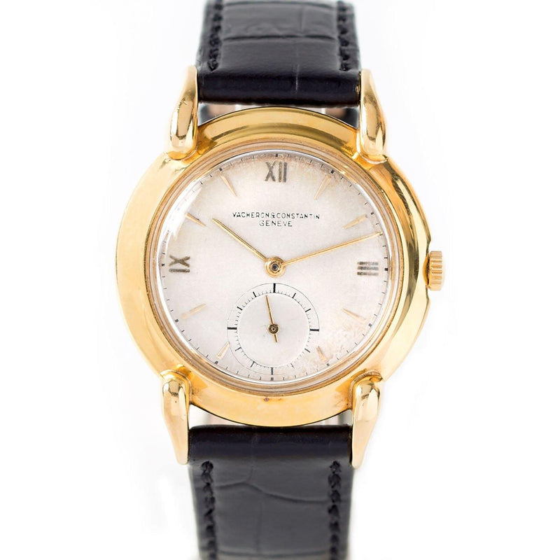 Vacheron Constantin Classic Round Vintage  18K Yellow Gold - Twain Time, Inc.