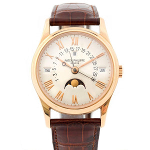 Patek Philippe Retrograde Perpetual Calendar 18K Rose Gold Ref. 5050R - Twain Time, Inc.