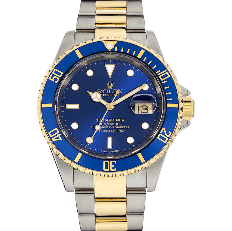 Rolex Submariner Date Two Tone - Twain Time, Inc.