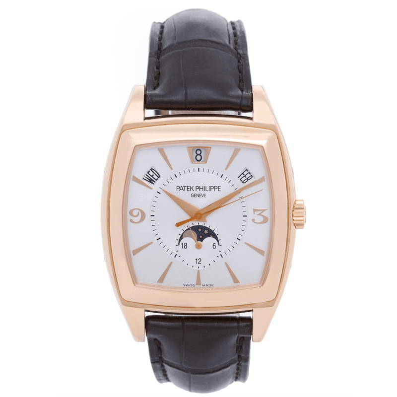 Patek Philippe Gondolo Annual Calendar Moon Phases 18K Rose Gold Ref. 5135R - Twain Time, Inc.