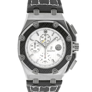 Audemars Piguet Royal Oak Offshore Juan Pablo Montoya Chronograph Titanium Limited Edition - Twain Time, Inc.