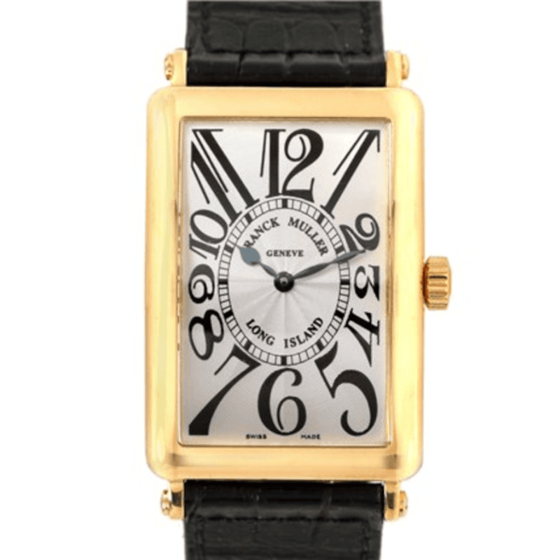 Franck Muller Long Island 18K Yellow Gold - Twain Time, Inc.