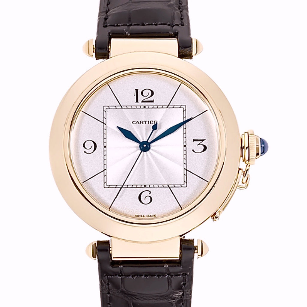 Cartier Pasha Automatic 18K Rose Gold - Twain Time, Inc.