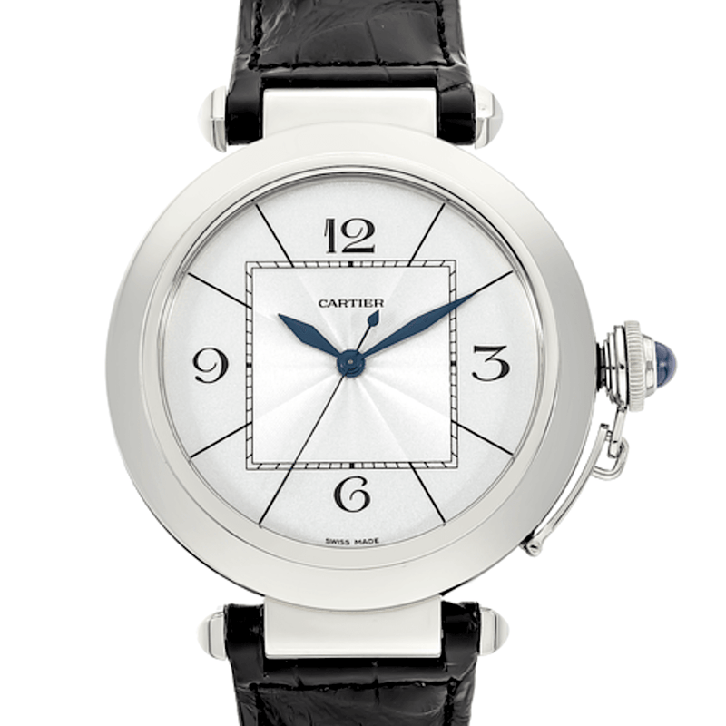 Cartier Pasha Automatic Limited Edition Palladium - Twain Time, Inc.