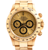 Rolex Zenith Cosmograph Daytona Champagne Dial 18K Yellow Gold Ref. 16528 - Twain Time, Inc.