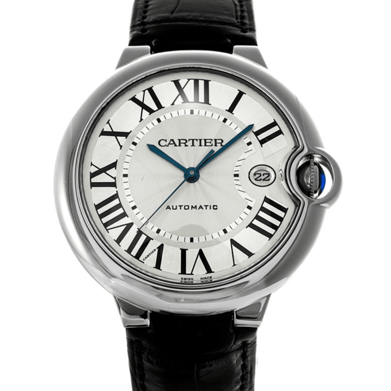 Cartier Ballon Bleu De Cartier XL 18K White Gold 42 mm - Twain Time, Inc.