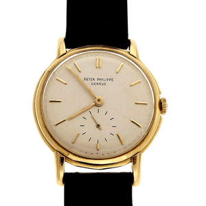 Patek Philippe Calatrava 18K Yellow Gold Ref. 2484J - Twain Time, Inc.