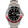 Rolex GMT-MASTER II Coke Stainless Steel No Holes Case Ref. 16710
