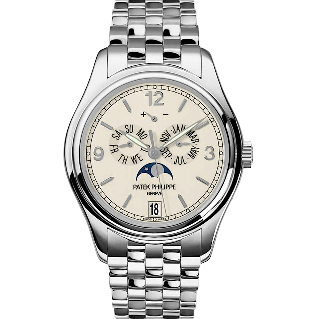 Patek Philippe Annual Calendar Moon Phases 18K White Gold Ref. 5146/1G