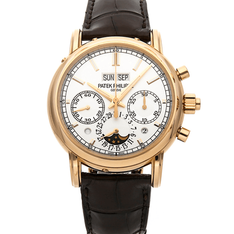 Patek Philippe Grand Complications Split-Second Chronograph Perpetual Calendar 18K Rose Gold Ref. 5204R