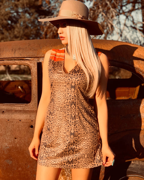 The Gracen Leopard Dress