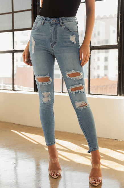 Just Right Jean - Light Denim