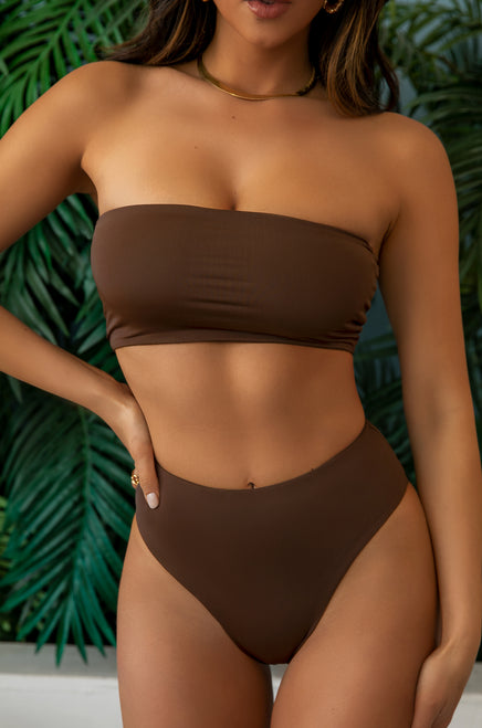 Private Island Bikini Set - Mocha